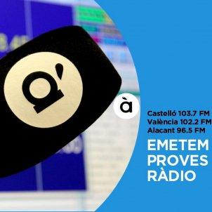 Promoció À Punt Ràdio / ACN