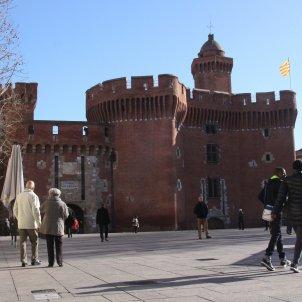 Imatge general del Castellet, una de les icones de Perpinyà / ACN