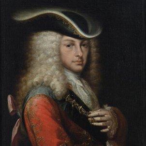 Es fa efectiu el polemic testament de l'ultim Habsburg hispanic. Retrat de Felip V. Font Museu d'Història de Catalunya