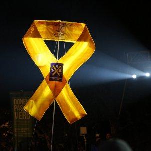 Llaç groc diada per la llibertat presos politics - Sergi Alcàzar