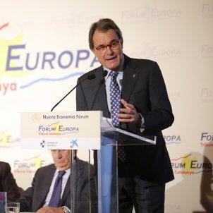 Artur Mas, José Antich Fòrum Europa Sergi Alcàzar