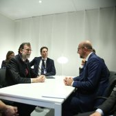 Rajoy reunió Carles Michel   twitter