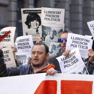 protestes conselleries   acn