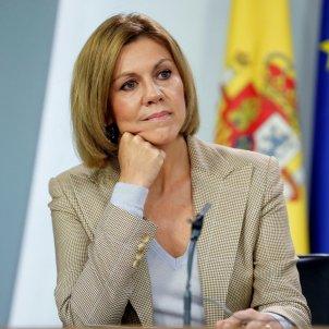 Maria Dolores de Cospedal, ministra de Defensa espanyola / Efe