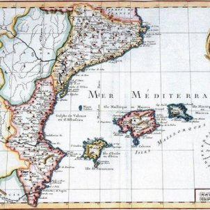 La Comissió Europea diu que català i valencià son la mateixa llengua. Mapa del domini lingüistic del català. 1759. Font Arxiu d'ElNacional (1)