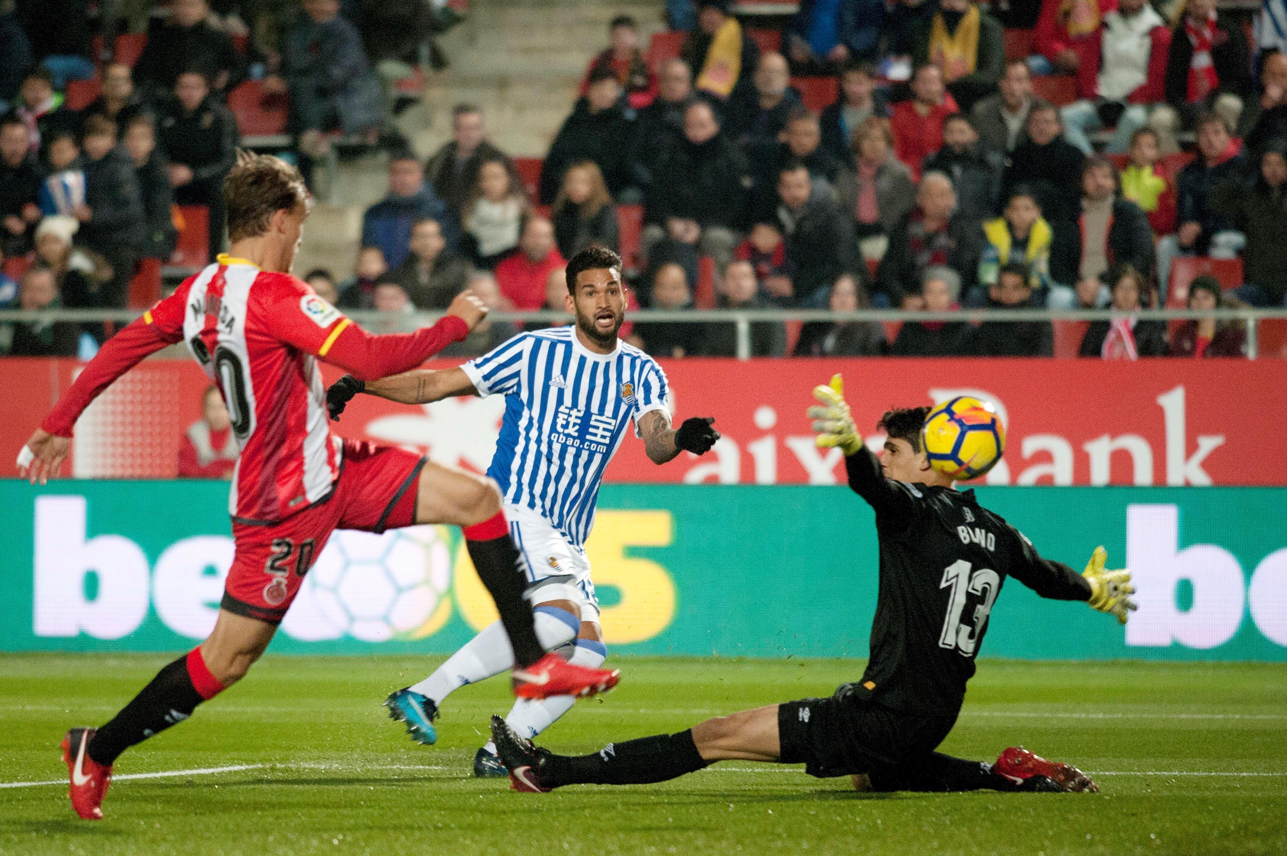 Girona Reial Societat gol   EFE