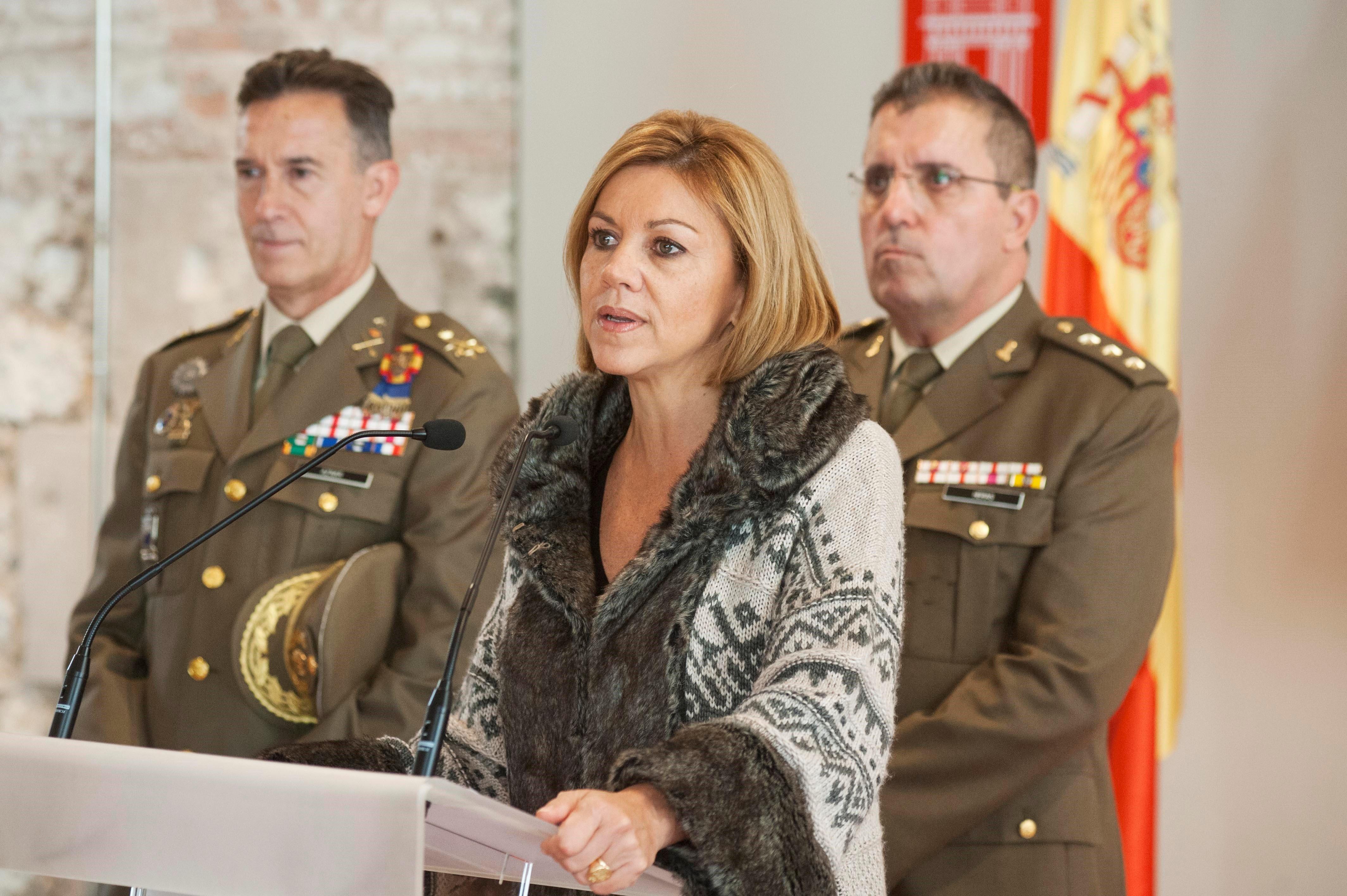 Cospedal militars EFE