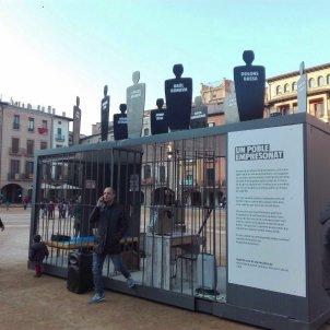 Presó plaça Vic suport presos politics - Sandra Grau