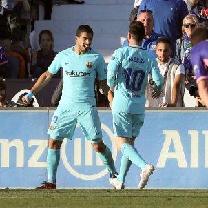 Leo Messi Luis Suárex Barça Leganes   EFE