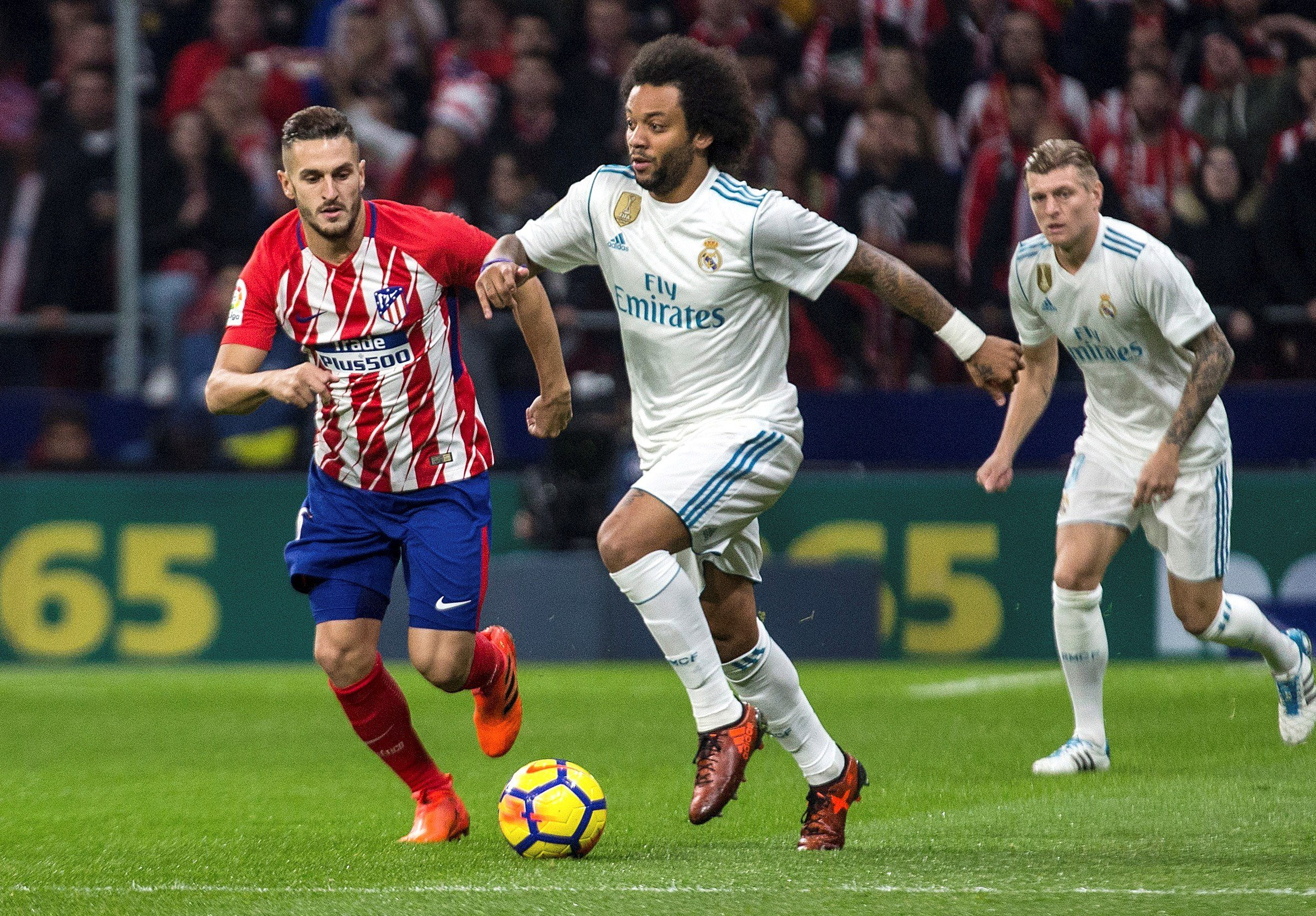 Reial Madrid Atletic Madrid Marcelo Koke   EFE