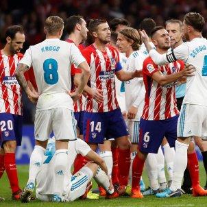 Reial Madrid Atletic de Madrid tangana futbol Wanda   EFE