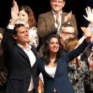 Arrimadas i Rivera presentació llistes Ciutadans ACN