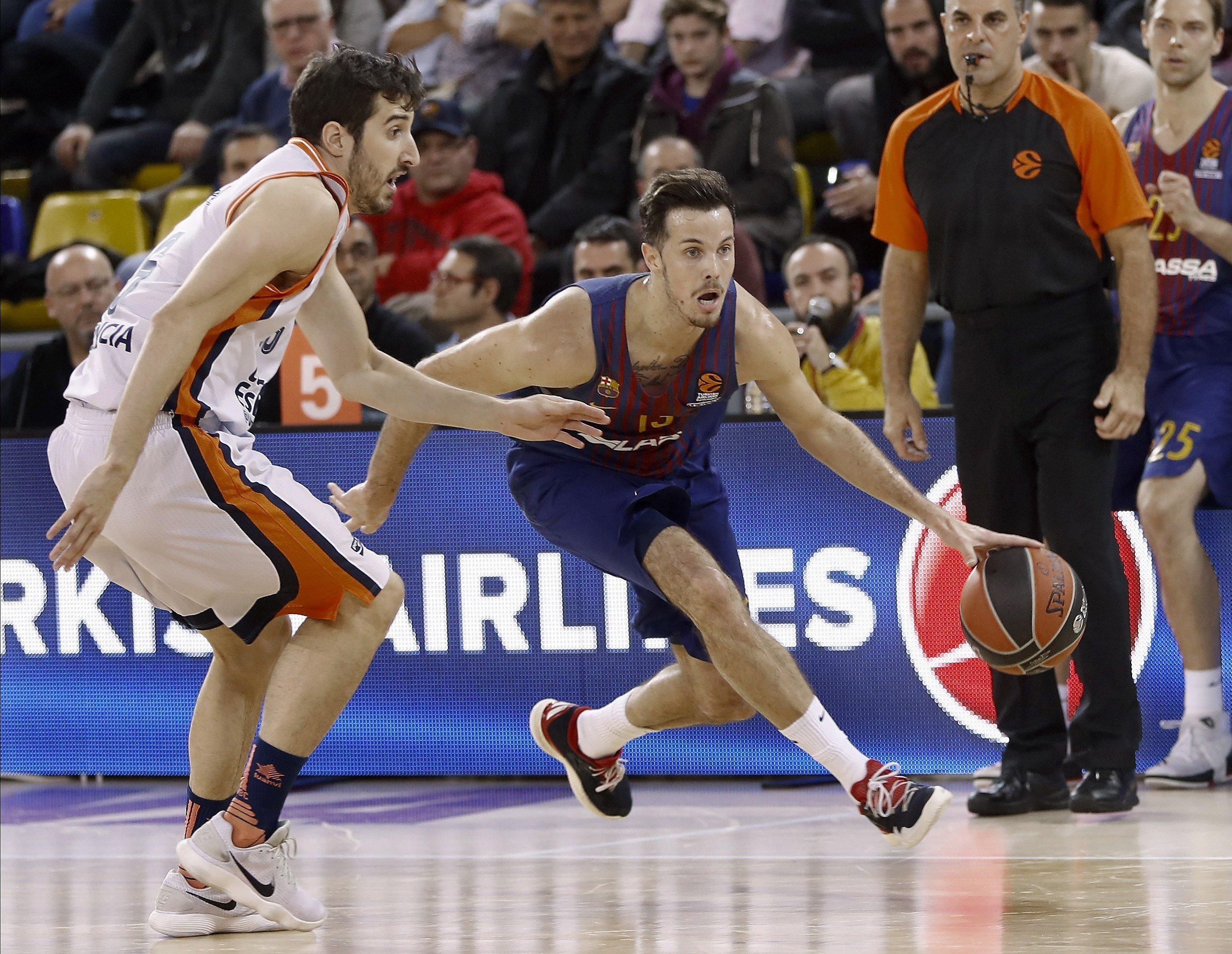 Barça Valencia Basket Eurolliga   EFE