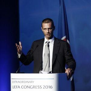 Aleksander Ceferin president UEFA Efe