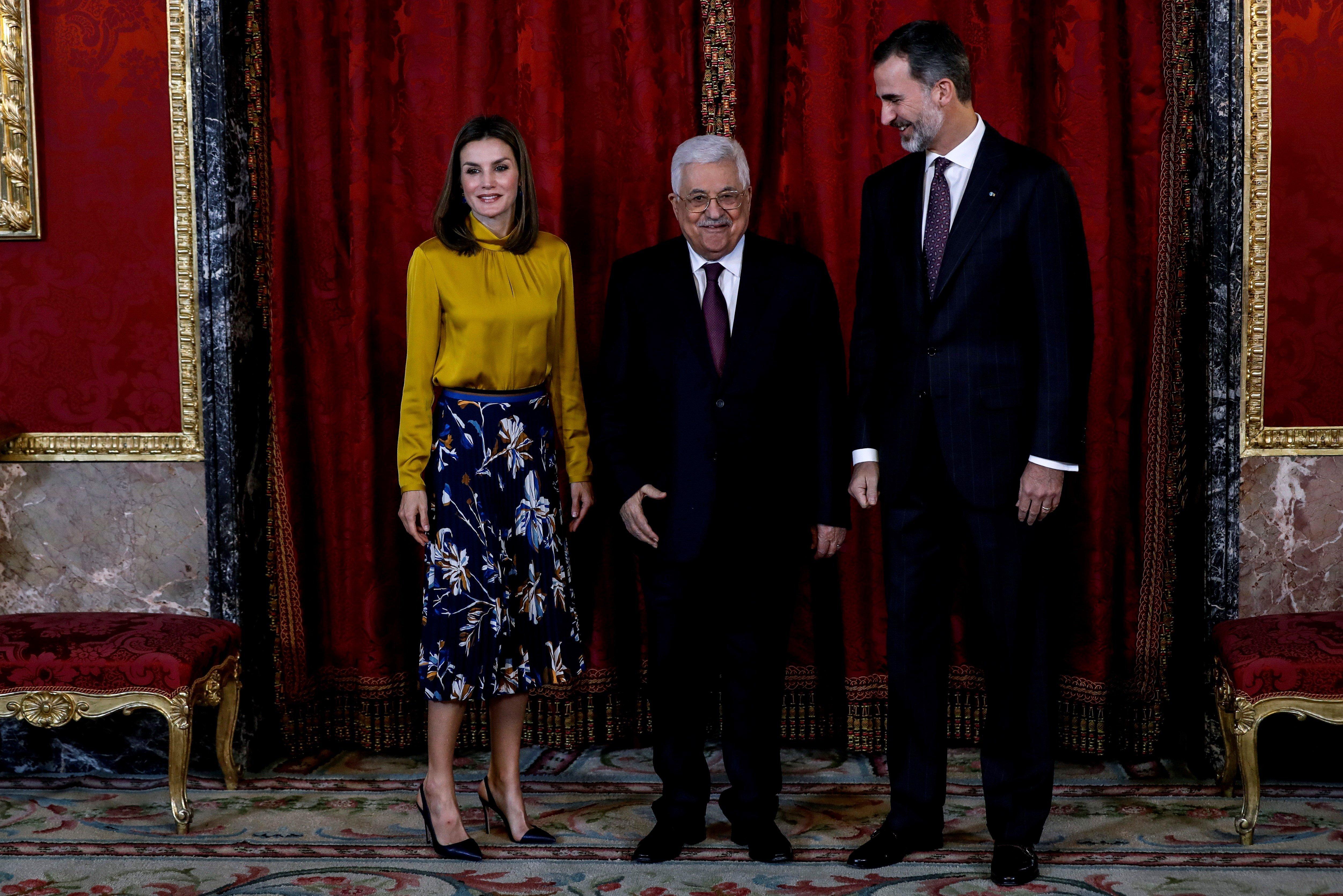 felipe letizia abbas palestina efe