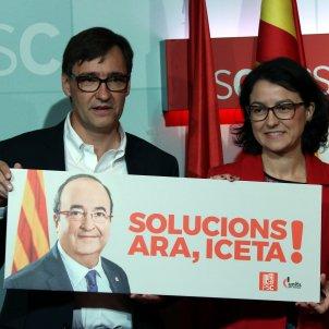 Granados Illa eleccions 21-D Solucions Ara Iceta - ACN