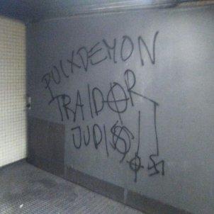 Pintades nazis independència Via Júlia - Jordi Palmer