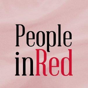 people in red fundació lluita contra la sida