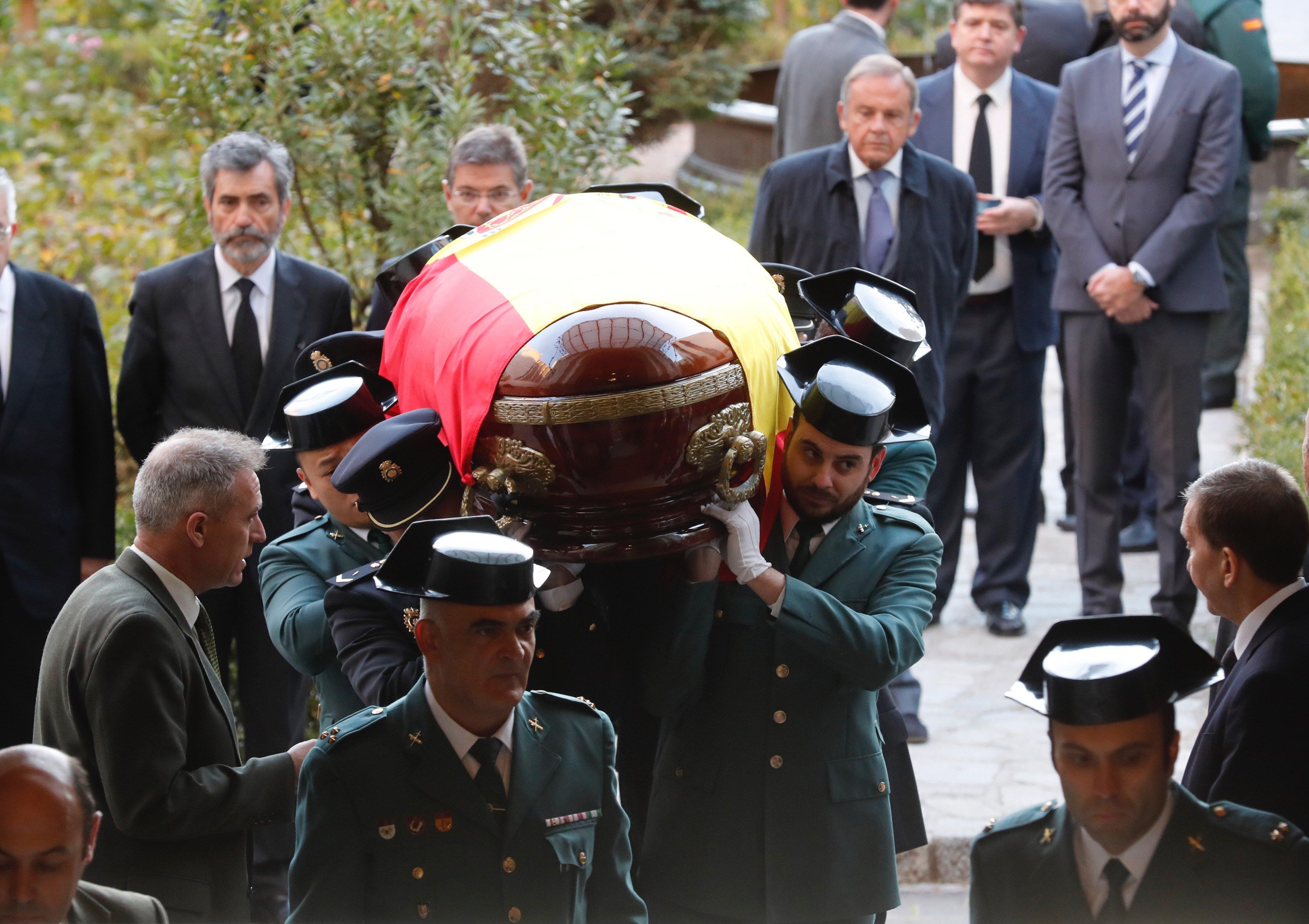 Capella ardent Fiscal General Maza - Efe