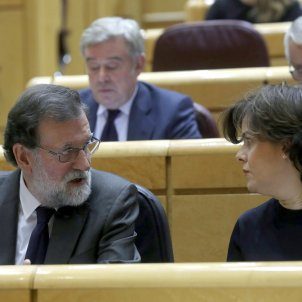 Mariano Rajoy Soraya Sáenz de Santamaría - EFE