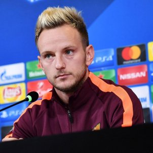 Rakitic Barça Champions League Efe