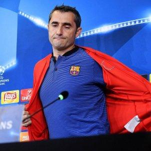 Ernesto Valverde Barça Champions League Efe