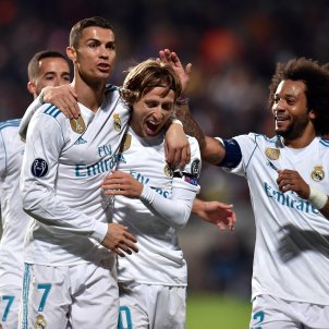 Cristiano Ronaldo Modric Reial Madrid Champions League Efe