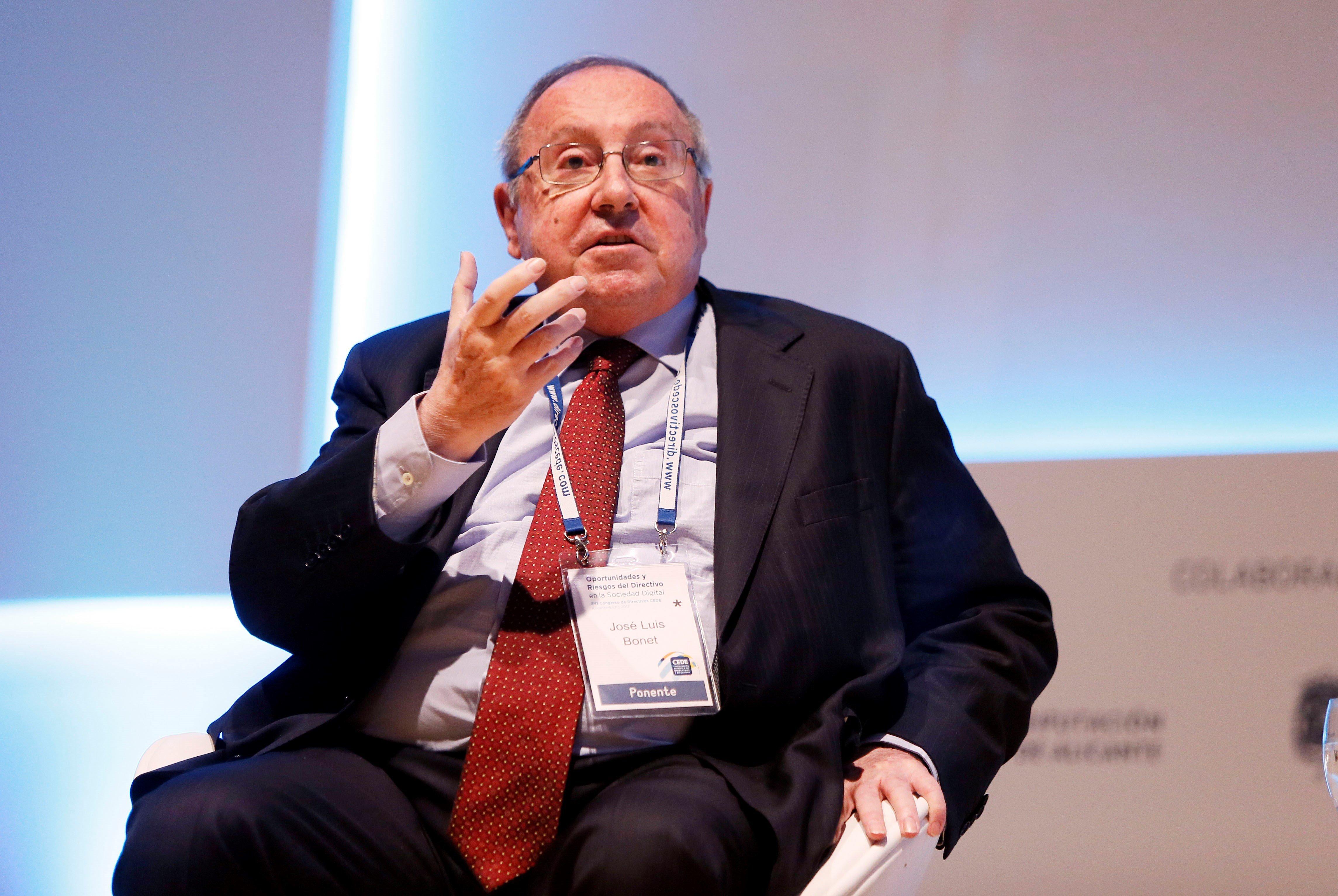 El president de la Cambra de Comerç d'Espanya i de Freixenet, Josep Lluis Bonet