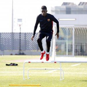 Dembele entrenament Barça recuperacio lesió   FCB