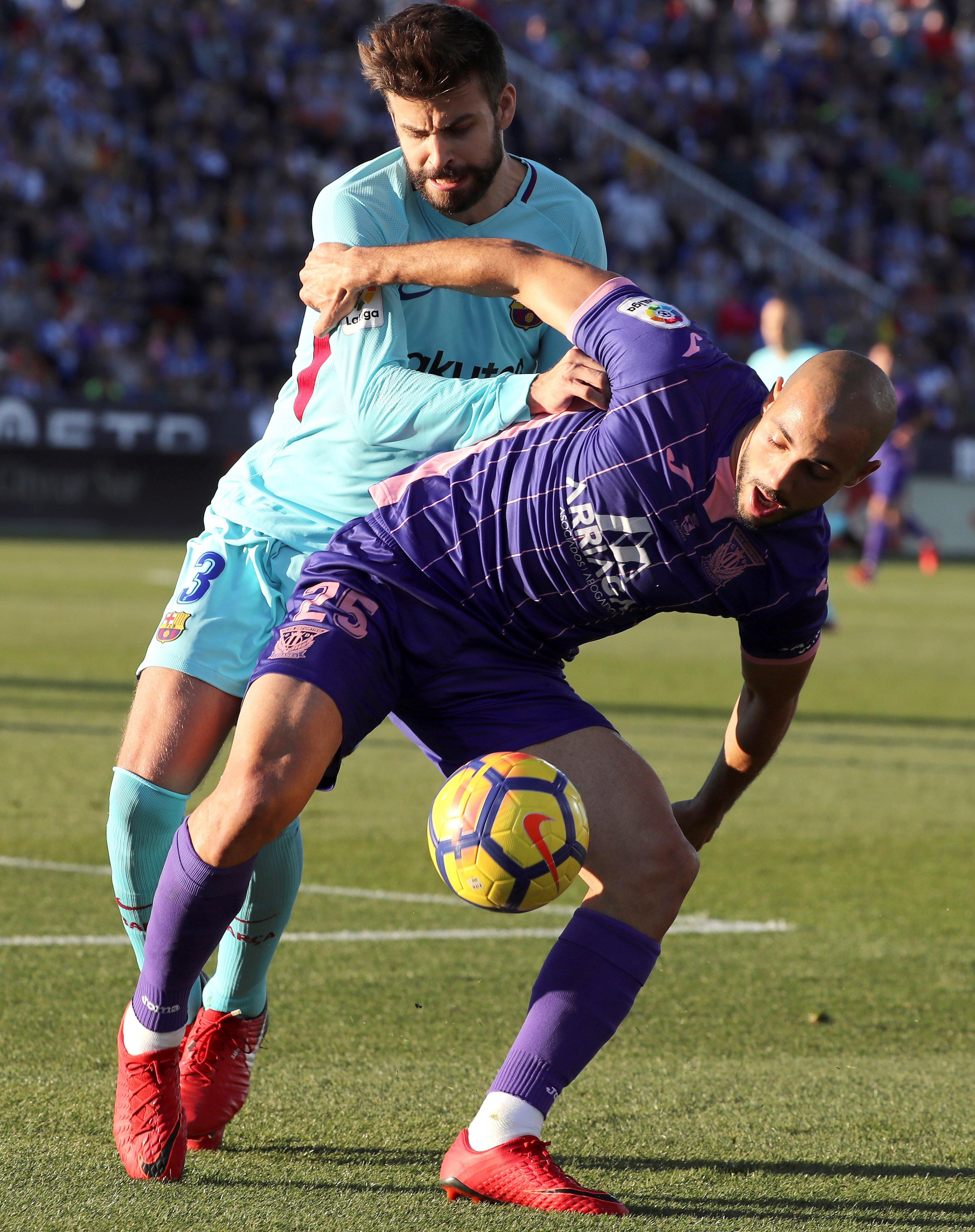 Gerard Piqué Leganés Barça Efe