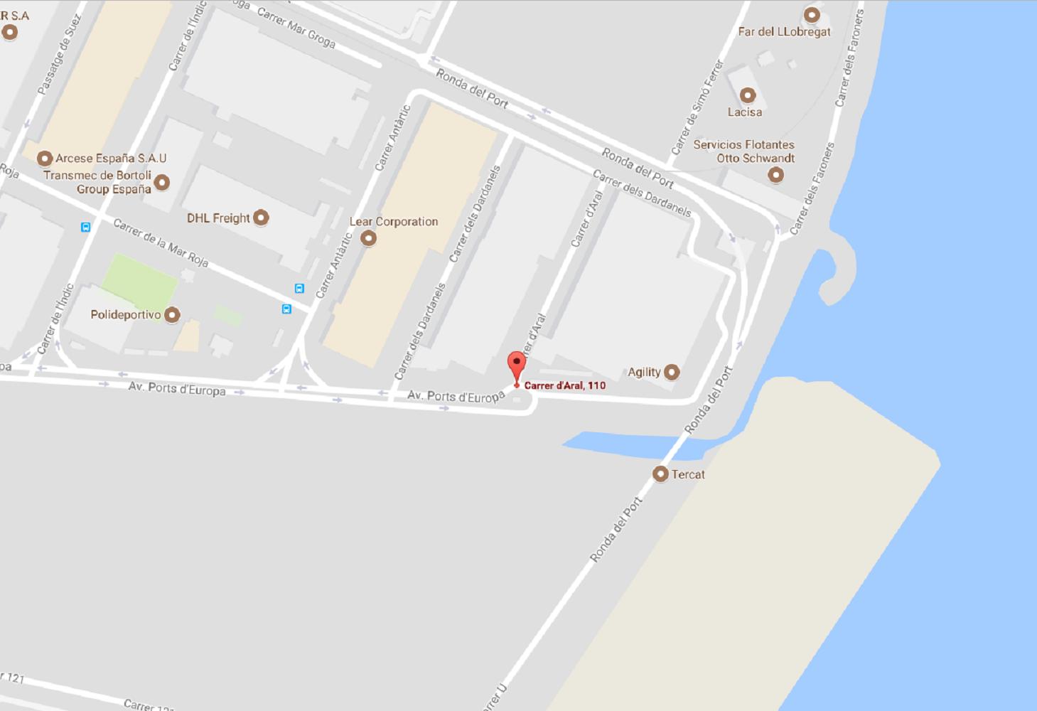 gran recapte magatzem google maps