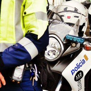 Mossos d'Esquadra recurs accident cotxe - CME