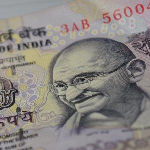 Ghandi bitllet Índia (Pxhere)
