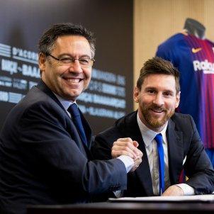 Leo Messi renovació Barça Josep Maria Bartomeu FC Barcelona