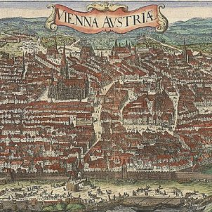 Viena a mitjans del segle XVII. Font Viena Museum