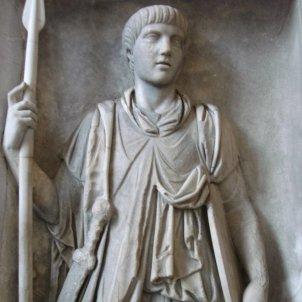 Relleu d'un soldat pretorià Wikimèdia