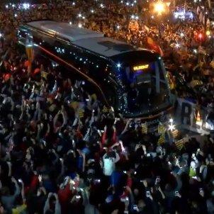 València Barça aficionats Captura pantalla
