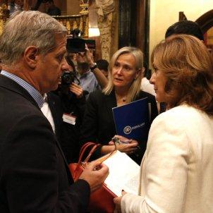 Carina Mejías i Alberto Fernández / ACN
