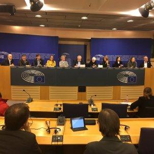 Patalaforma diàleg UE-Catalunya Parlament Europeu - @jmterricabras