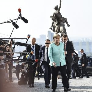 merkel UE Bratislava - EFE