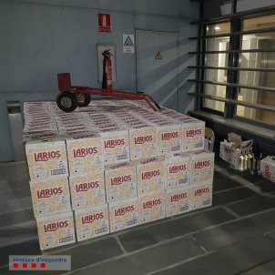 robatori licor mossos europa press