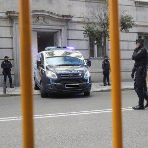 furgo policial Suprem consellers - EFE