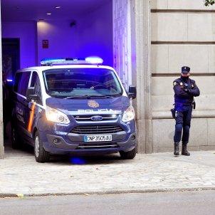 Policia Nacional furgo - Efe