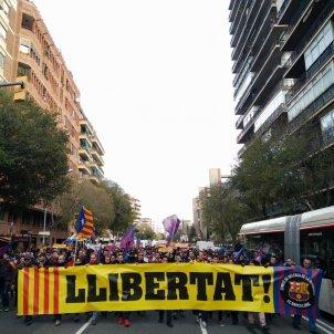 CDR Barça Llibertat presos