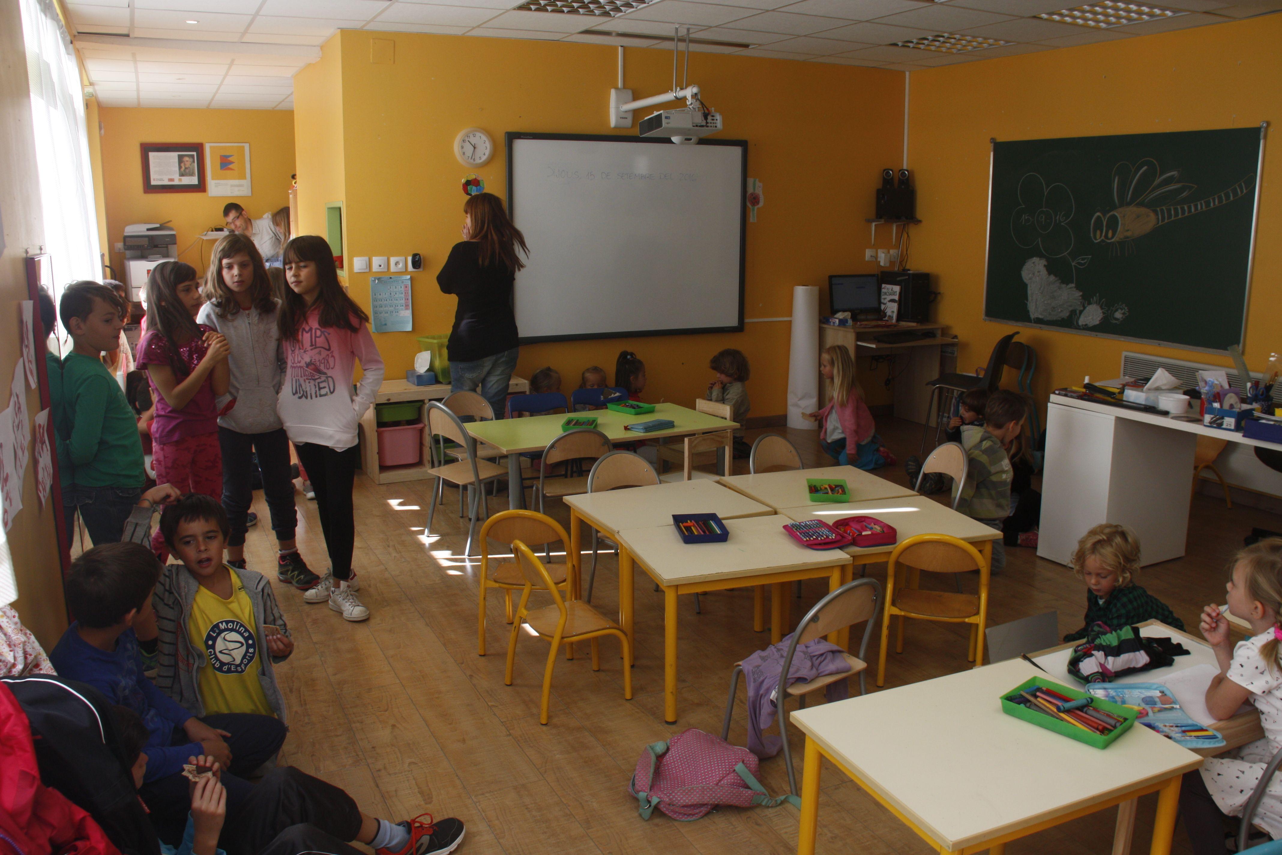 Classe - Cerdanya - Escola - Catala - ACN