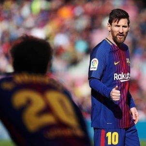 Messi Sergi Roberto Barça Celta Camp Nou EFE