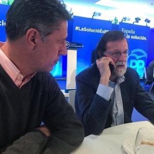 Rajoy a Mataró Twitter @marianorajoy