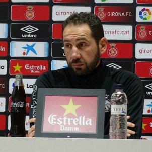 Machín Roda de premsa GIRONA FC