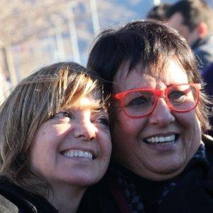 Borràs i Bassa surten d'Estremera twitter @Esquerra ERC