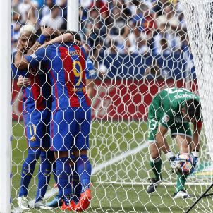 Leo Messi Luis Suárez Leganés Barça Efe 2